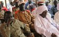UNMISS facilitates migration dialogue between Arab nomads and host community in Aweil East