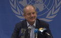 Departing UNMISS Chief sends message of peace to the people of South Sudan
