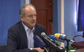 PRESS CONFERENCE – OPENING REMARKS AND Q&A DAVID SHEARER SPECIAL REPRESENTATIVE OF THE SECRETARY-GENERAL Juba, 6 April 2021