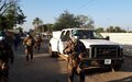 UNMISS troops protect humanitarians attacked by angry youths in Jam Jang, South Sudan