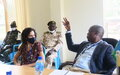 UNMISS collaborates with the State Committee for Child Protection in Eastern Equatoria to train uniformed personnel on violations against children