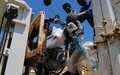 UNMISS hands over motorbikes to South Sudan national police services