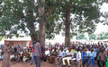 Excitement in Tambura as residents read revitalized peace agreement in their language