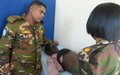 UN peacekeepers provide Wau civil servants with free medical services