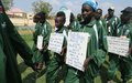 Young athletes come together in peace on National Unity Day in South Sudan