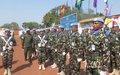 Nepalese Peacekeepers receive UN Medal