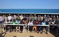 Nepalese UN police supporting conflict-affected schoolchildren in South Sudan