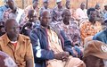 The high rate of illiteracy creates a challenge for police officers combating crime in Aweil