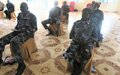 UNPOL officers conduct two-day refresher training for national policing counterparts in Warrap