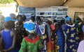Pariang women inspired by female UN peacekeepers' peace building experiences