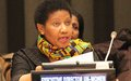 UN Women Executive Director Phumzile Mlambo-Ngcuka implores women to be part of the digital revolution