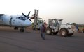 UNMISS fire response teams swiftly react after cargo plane crash lands in Wau