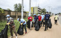 Juba deputy mayor urges residents to engage in keeping city clean after UNMISS campaign