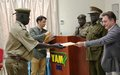 UNMISS fills know-how gaps among prison officers to address human rights issues