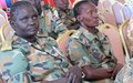 Female soldiers rising up South Sudan's military ranks call for greater respect for human rights