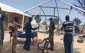 UNMISS peacekeepers evacuate humanitarian workers under threat in Renk