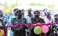 UNMISS Police hands over building to serve as a crime data analysis facility to South Sudanese colleagues