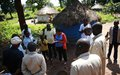 UNMISS peacekeepers investigate attack on displaced families seeking sanctuary at a Rimenze church