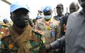 UN Military Adviser visits UNMISS temporary operating base in Koch