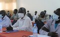 UNMISS briefs newly appointed state officials in Eastern Equatorian on its work to protect civilians and build peace