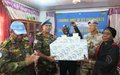 UN peacekeepers revamp local broadcasting station in Wau with donation of electronics