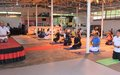 Indian Colonel creates yoga movement in Malakal one step at a time