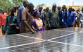UNMISS Dedicates 300-Watt Solar Panel System for the People of Gogrial