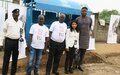 UNMISS hands over nine bus-stop shelters in Juba as a gesture of goodwill