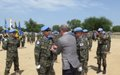 UNMISS chief awards UN medal to Korean contingents