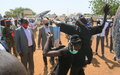 UNMISS chief pledges support to develop Bahr-el-Ghazal region and increase UNPOL presence