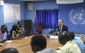 Statement by the Special Representative of the Secretary-General Press Conference Juba
