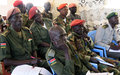 UNMISS educates South Sudan government army on how not to violate the rights of children