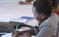 """Women's forum participant in Aweil: """"Peace begins at home"""""""