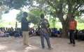 Talks continue on disarmament and reintegration of child soldiers in Western Equatoria