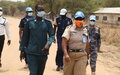 Patrolling UN Police reach out to support South Sudanese colleagues in Anyidi and Makuach