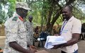UNMISS engages with opposition forces in Nyara cantonment site to prevent gender-based violence