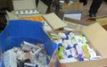 UN peacekeepers donate medicines to hospital and prison in Bor