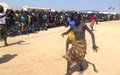 UN peacekeepers organized fun-day for displaced children in Bentiu