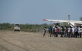 Pibor residents upbeat after rehabilitation of area airstrip by  Korean UN peacekeepers