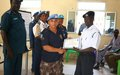 A Boost for Security as UN Police Train Law Enforcement Officers in Malakal Town