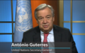 UN Secretary-General Antonio Guterres delivers an appeal for peace (video)