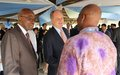 "UNMISS chief at welcome reception: There is ""courage and resilience"", ""hope and optimism"""