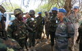 Residents in Koch welcome deployment of peacekeepers to protect civilians, encourage displaced to return home