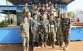 UNMISS Military Gender Advisor creates network for female troops
