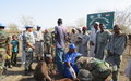 UNMISS peacekeepers organize veterinary camps in Upper Nile