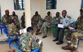 UNMISS provides human rights training to South Sudanese army officers in Maridi