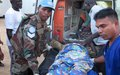 UNMISS treats civilians injured in armed attack in Jonglei
