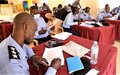 Senior South Sudanese police officers in Yambio trained by UNMISS