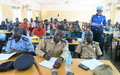 Senior officers from organized security forces in Yambio acquire leadership and management skills