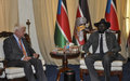 UN Peacekeeping chief meets president Kiir: Solution to South Sudan's problems has to be political (including audio)